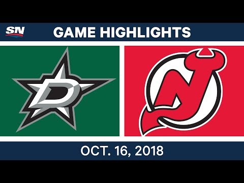 NHL Highlights | Stars vs. Devils - Oct. 16, 2018