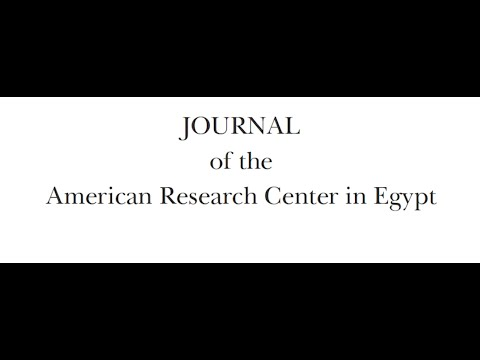 Journal of the American Research Center in Egypt (JARCE)
