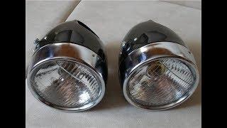 Почему плохой свет у шестивольтовых (6вольт) мотоциклов. Как это исправить.