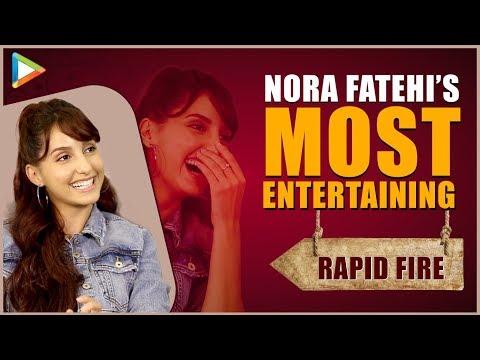 """Salman Khan- AMAZING, Varun Dhawan- FUN"": Nora Fatehi | Rapid Fire | O Saki Saki | Katrina Mp3"