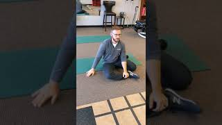 Dead Bug rehabilitation exercise at Catalyst Wellness