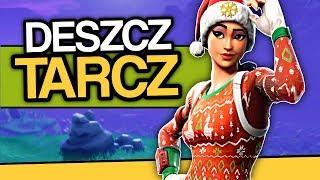 JAK W ŚWIĘTA - DESZCZ TARCZ! (Fortnite Gameplay PL - Battle Royale)