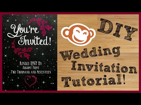 DIY WEDDING INVITATION TUTORIAL! | WEDDING BELLS |