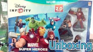 Disney Infinity 2.0 Starter Set - WiiU - Unboxing - Wdrumz Style! ;)