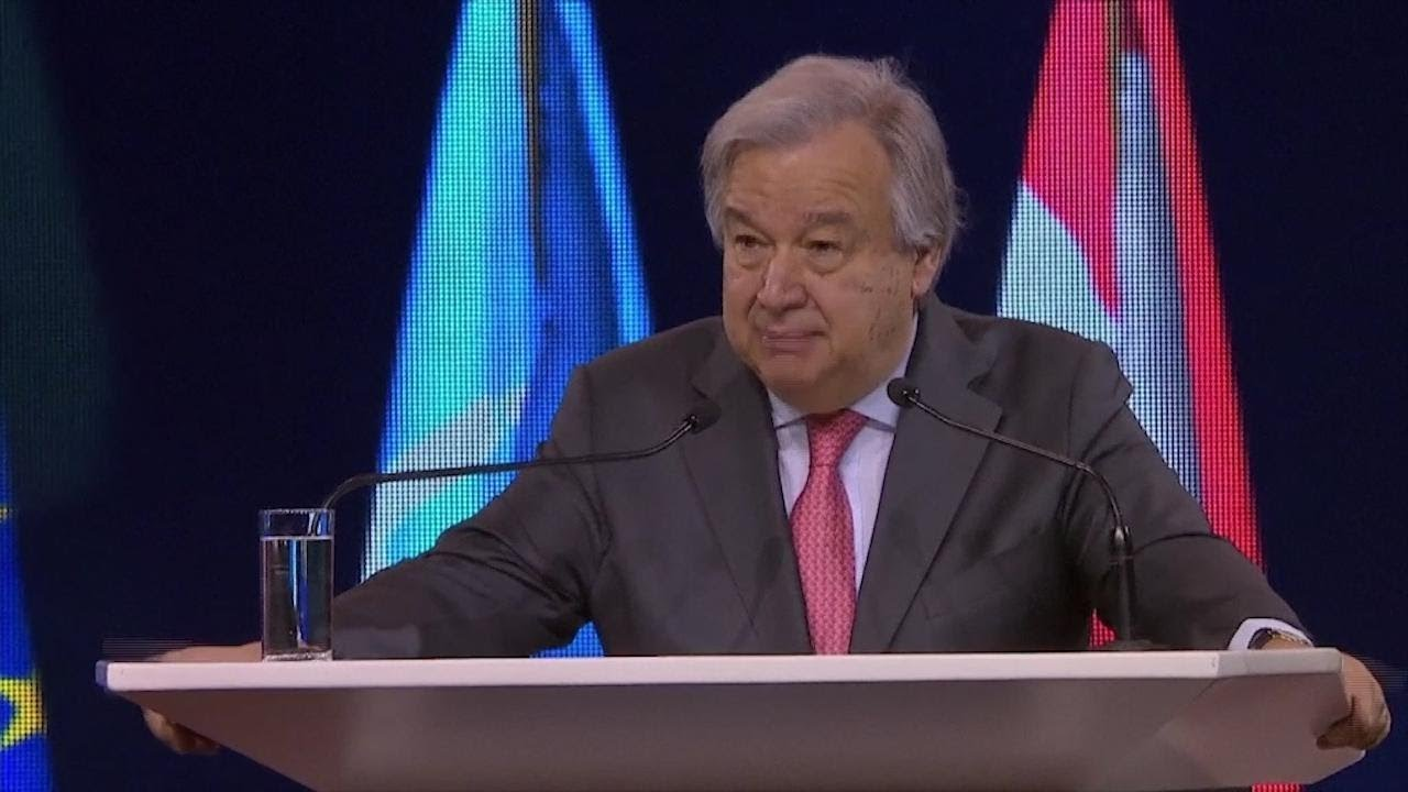 UN chief: Climate change poses 'existential threat' to humanity