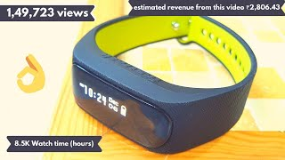 Fastrack reflex 2 0 fitness band unboxing, review and testing फास्टट्रैक रिफ्लेक्स 2.0 फिटनेस बैंड