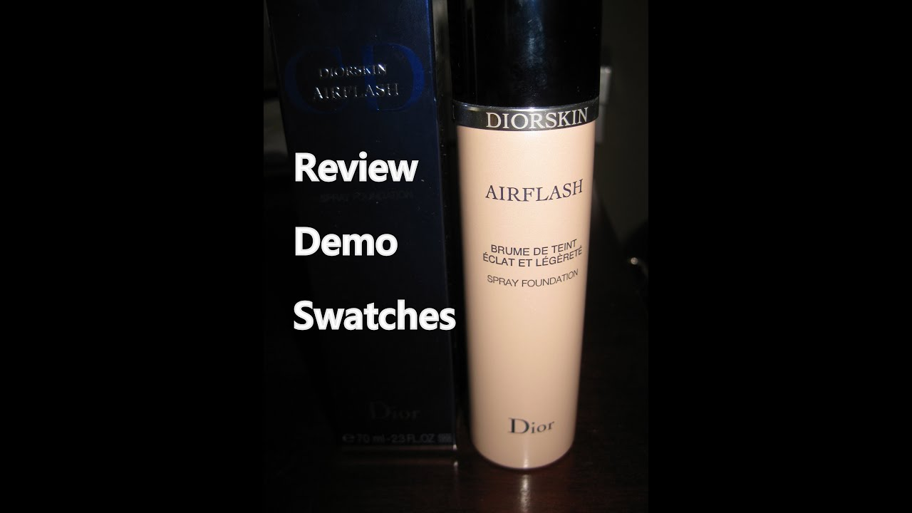 how to use dior airflash foundation