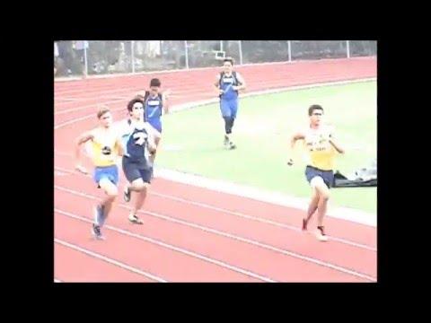 4x100m relay ACC Varsity Championship 2016
