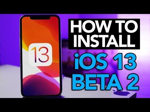 How To Install IOS 13 Beta 2 Profile! NO COMPUTER!
