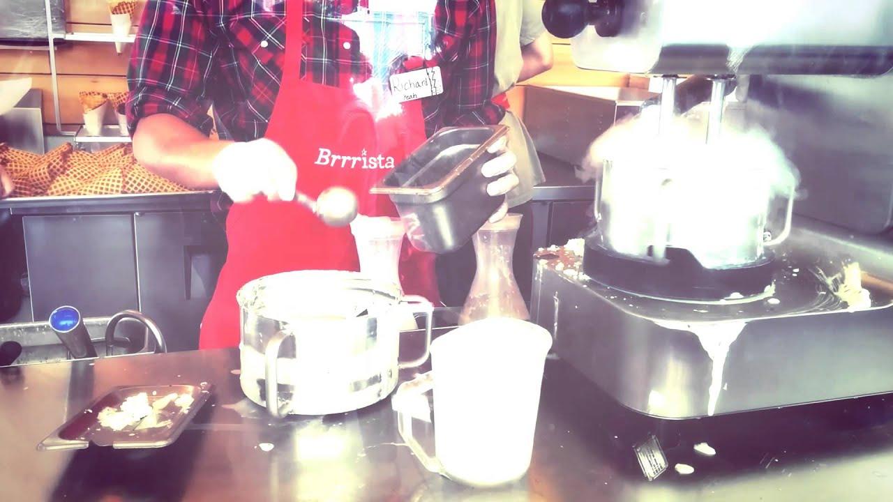 Smitten Ice Cream Hayes Valley smitten liquid nitrogen ice cream, hayes valley sf - youtube