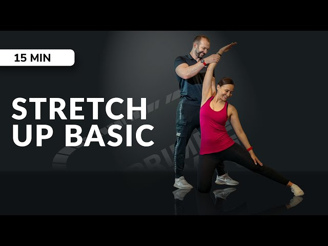 Live Workout Mobility Session - Stretch up