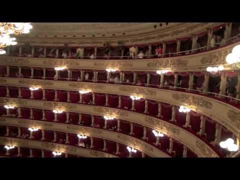 July 16, Music and History 2013. Milan, Italy. La Scala Opera.