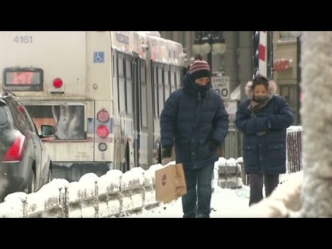Dangerous deep freeze hits the Midwest