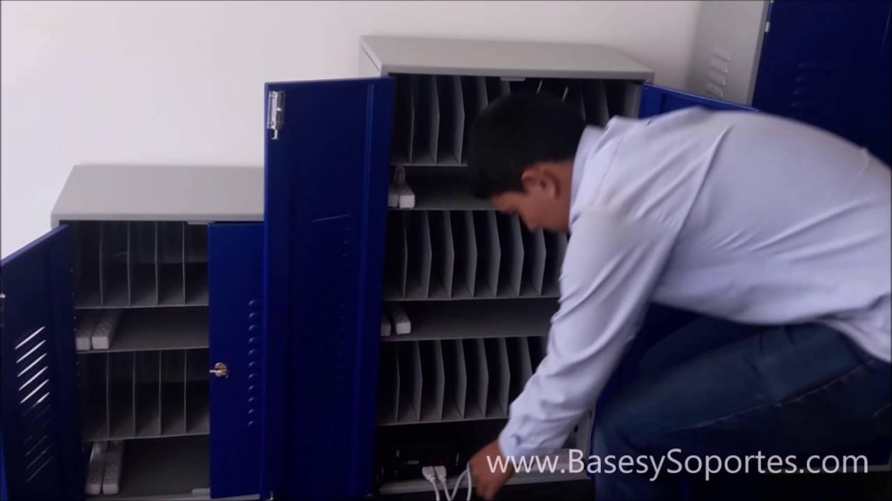 Mueble armario para almacenar guardar tablets electronicas for Mueble para telefono