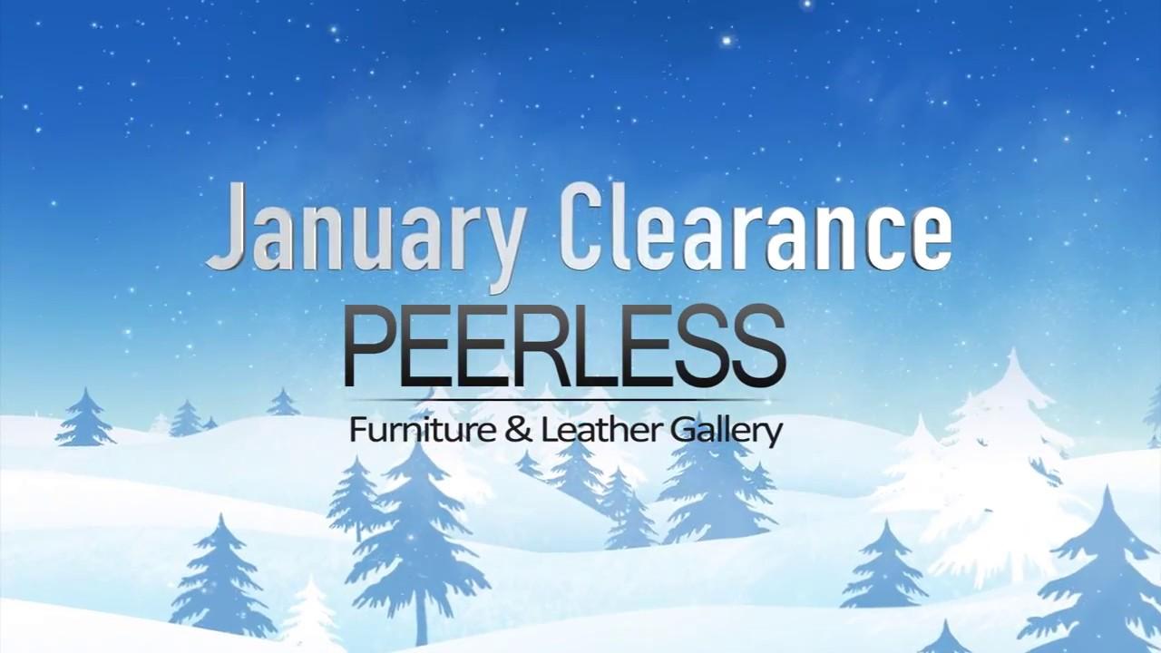 Peerless Furniture January 2017 Clearance Commercial   While Supplies Last