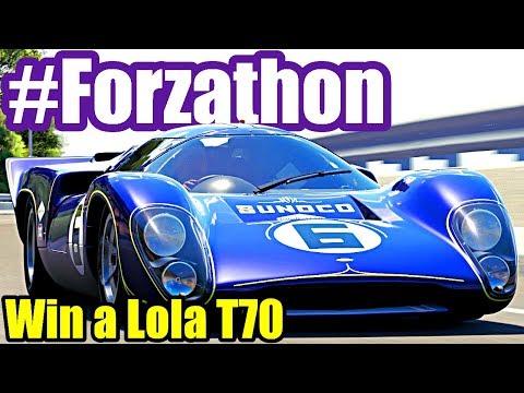 History Lesson #Forzathon Guide | Win a Lola T70 | Forza Horizon 3