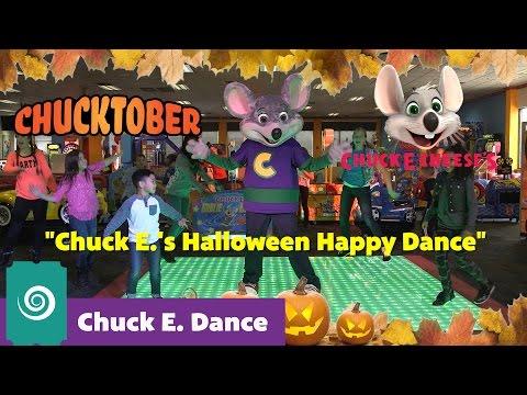 Chuck E.'s Halloween Happy Dance | Chuck E. Dance