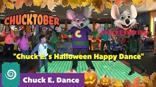 Chuck E.'s Halloween Happy Dance Choreography | Chuck E. Dance