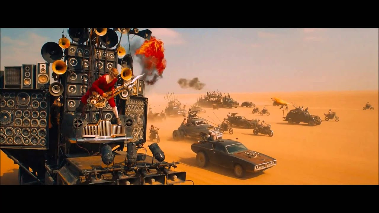 Cool Car Pc Wallpapers Mad Max Fury Road Flamethrower Guitar Hd Youtube