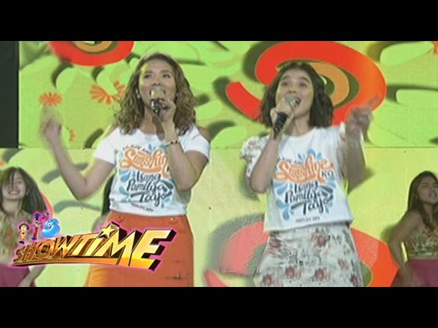 "It's Showtime: It's Showtime hosts sing ""Ikaw Ang Sunshine Ko, Isang Pamilya Tayo"""