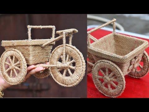 DIY Jute Craft Idea | Best out of Waste | DIY Home Decorating Idea | Best Craft Idea