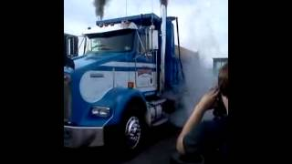 Antrim Diesel 2012 dyno day dump truck burnout