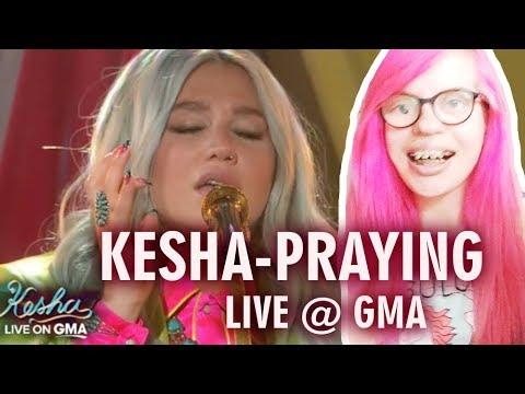 KESHA - PRAYING (LIVE ON GOOD MORNING AMERICA) REACTION | Sisley Reacts