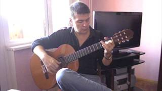 Malaguena (Traditional). Classical / Spanish guitar: V. Sharii.