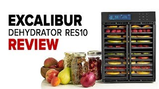 Excalibur RES10 Dehydrator Review