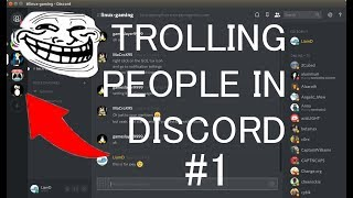 DISCORD TROLLING?!? #1 (WEIRD SOUNDS IN MIC)