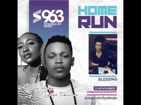 Dapo Tuburna, Bella Alubo play Home Run Abuja Radio Games