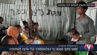 1000 מתוך 8000 בני הפלאשמורה יעלו ארצה מאתיופיה