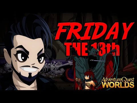 AQW Friday the 13th New Full CC Set! AdventureQuest Worlds