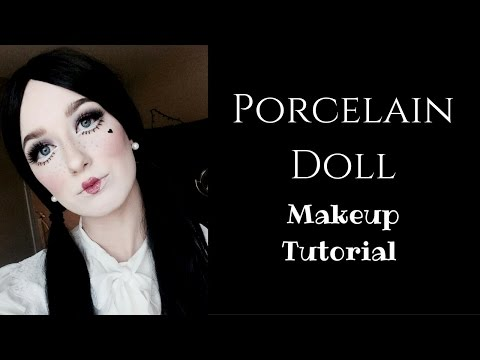 Porcelain Doll Makeup Tutorial