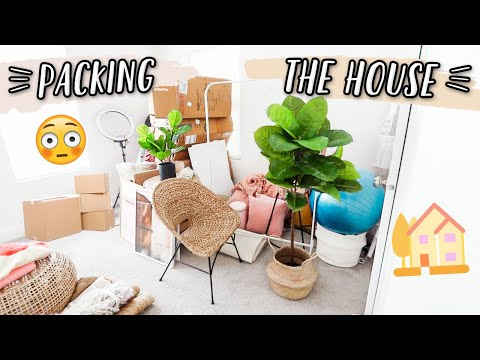 PACKING UP OUR HOUSE! MOVING VLOGS ARE HERE!