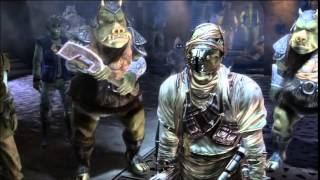 The Force Unleashed Ultimate Sith Edition: Jabba's Throne Room Cutscene