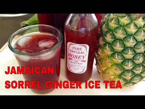 Very Delicious Spiced Pineapple Sorrel (Jamaican Hibiscus) Drink
