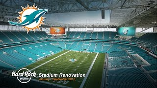 Watch and share this time-lapse movie highlighting the renovation process for miami dolphins hard rock stadium. from january to september 2016, earthcam'...