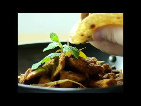 Chicken Rendang with PA Chapati
