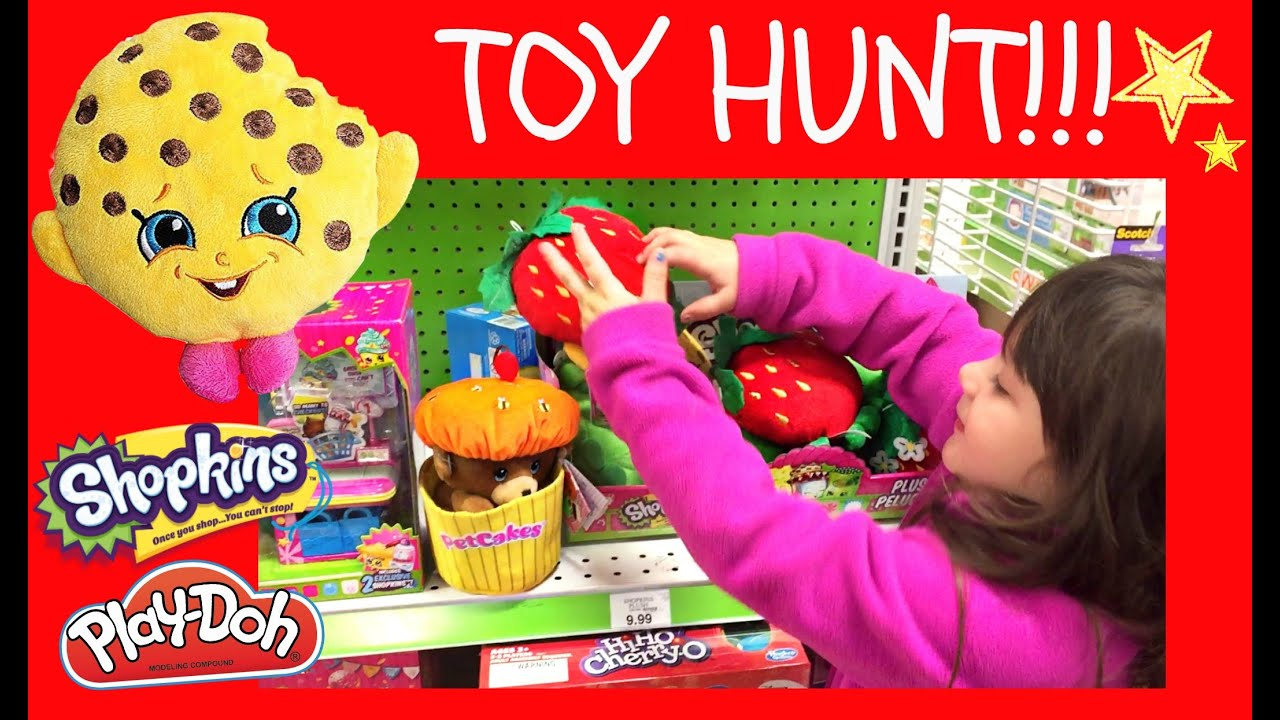 Night Time♥ TOY HUNT Toys R Us Edition Shopkins Frozen Fever