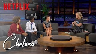 The 'Stranger Things' Kids Are Growing up Fast | Chelsea | Netflix
