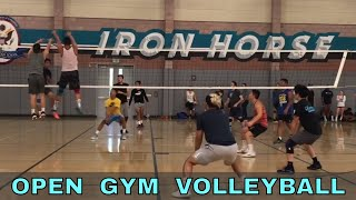 Iron Horse Open Gym Volleyball Highlights PART 1 (7/5/18)