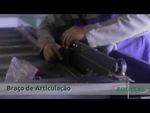 Kit Corrente Portão Basculante Rolbrás (Medida do Braço de Articulacão)