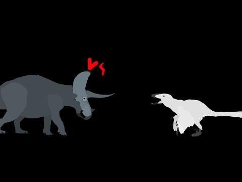 MBA: triceratops vs deinonychus