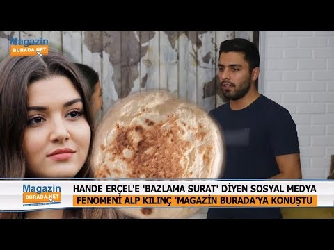 """Hande Erçel'e """"Bazlama Surat"""" Diyen Alp Kılınç Magazin Burada'ya Konuştu!"""