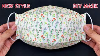 New Style 3D Face Mask Diy Breathable Mask Very Easy Sewing Tutorial At Home Mask Making Ideas