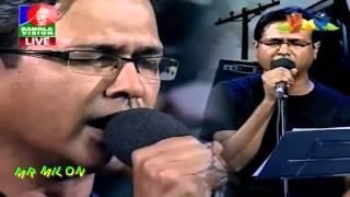 Ekhono Majhe Majhe | Asif Akbar | Banglavision Live