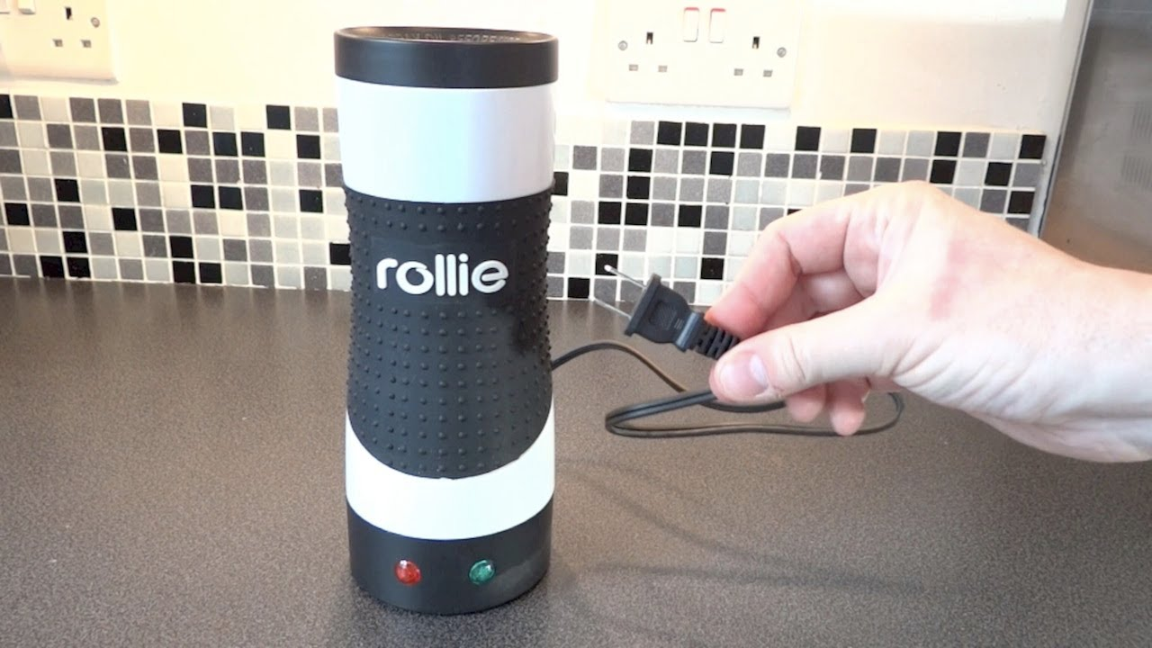 Kitchen Gadget - The Rollie Eggmaster Vertical Grill - YouTube