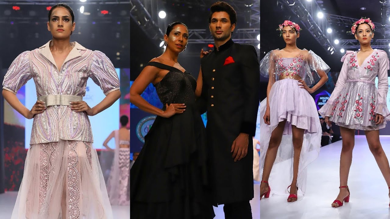 Delhi Times Fashion Week 2019 Jd Institute Of Fashion Technology Showcase A Vivid Collection Youtube
