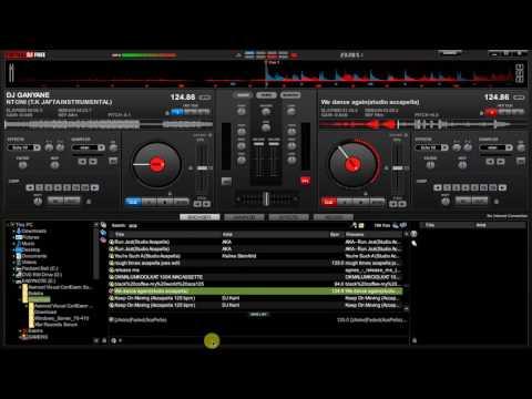 Virtual dj Bpm match